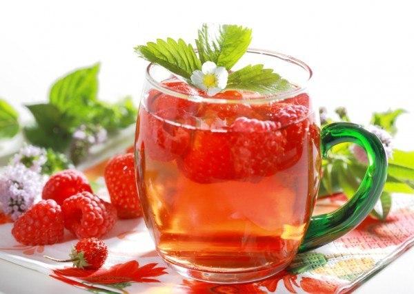 чай от малини