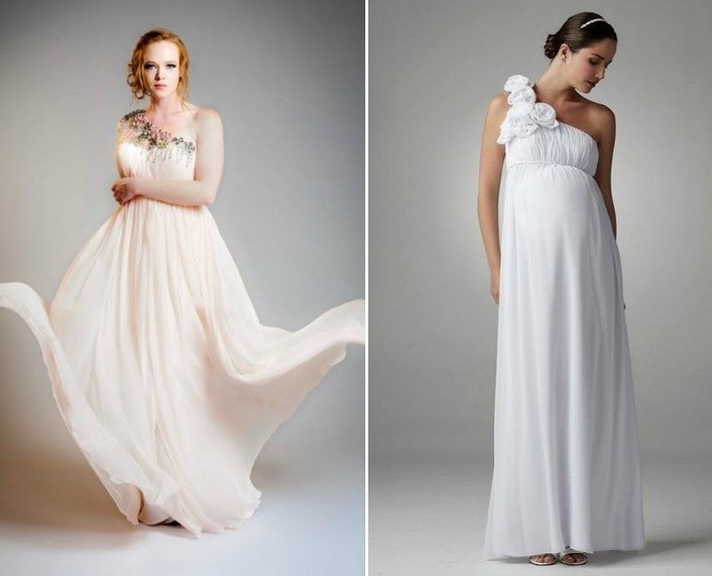 сватбена рокля в гръцки стил