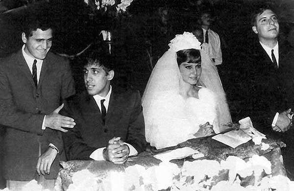 Челентано и Клаудия сватба