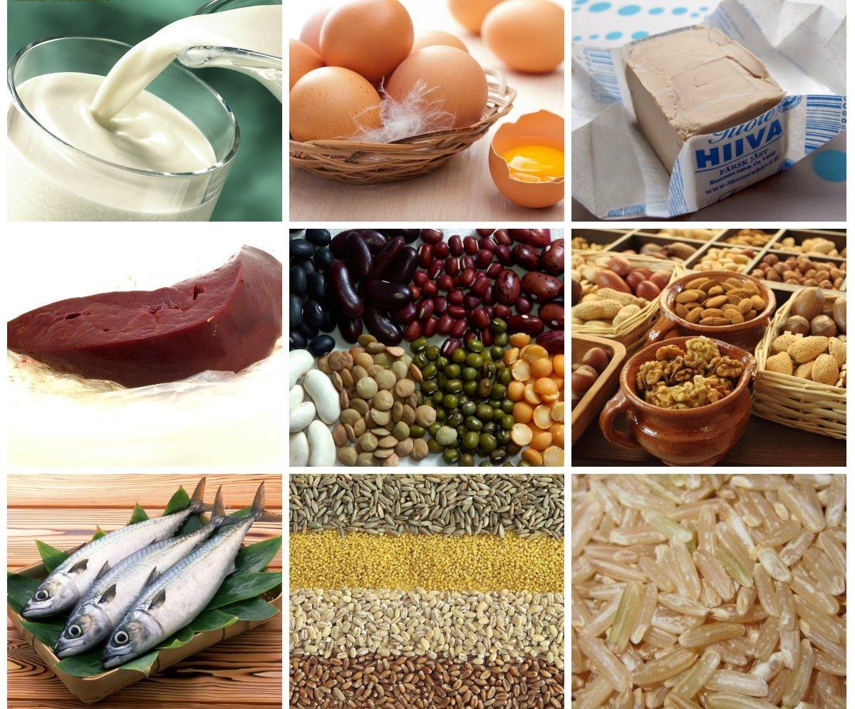 храни при кожни проблеми
