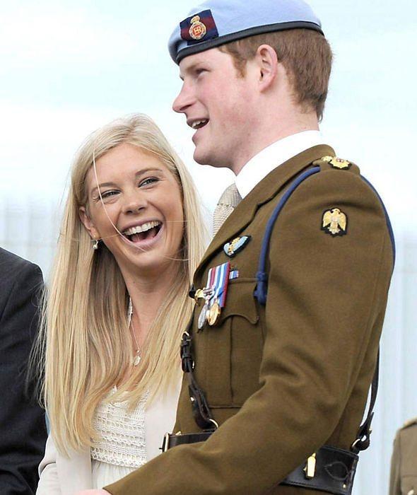 принц Хари с Челси