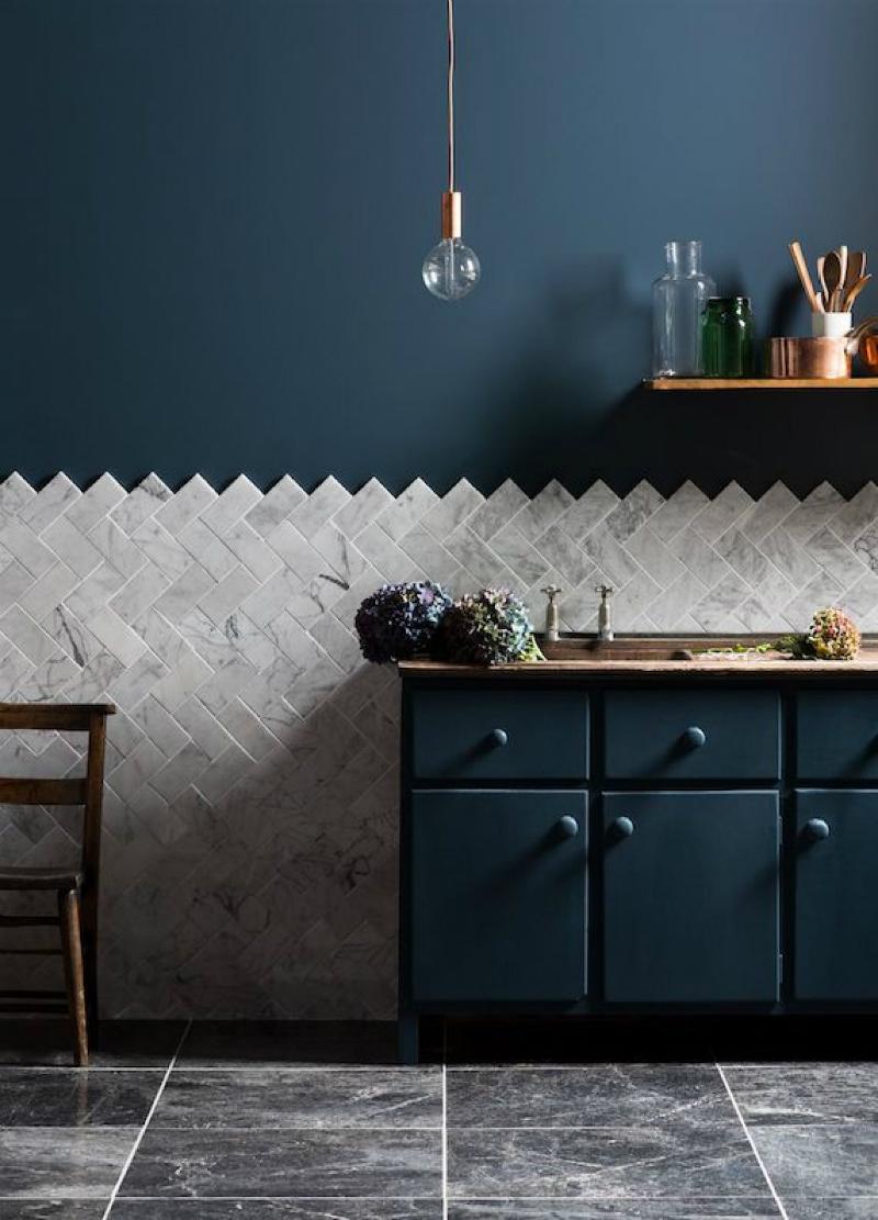модерен цвят за кухня