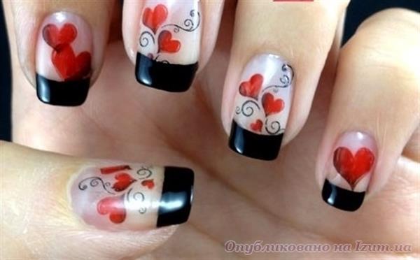 празника на влюбените нокти