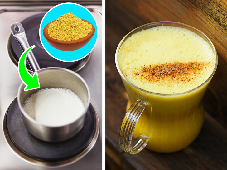 мляко с куркума за кашлица