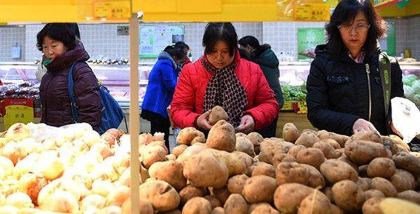 китайски картофи
