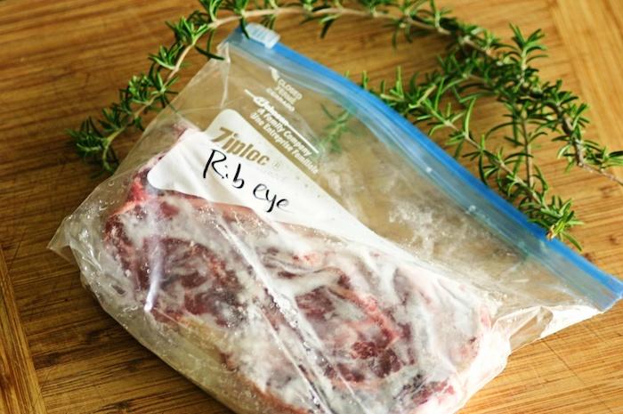 месо от фризера
