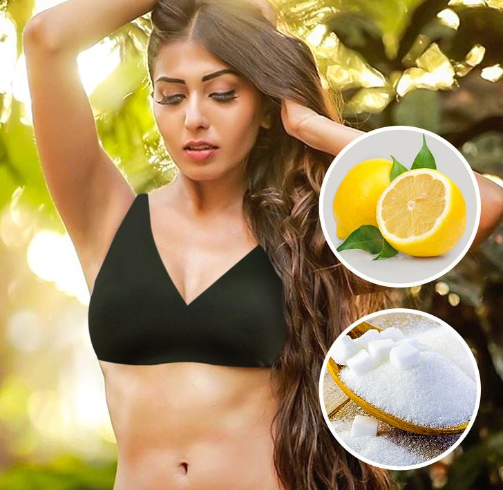 захар и лимонов сок епилация