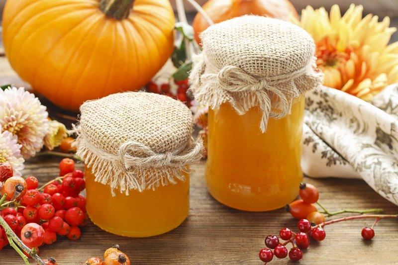 тиква с мед