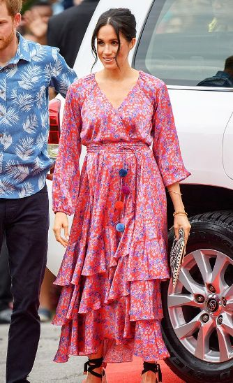 роклите на Меган Маркъл
