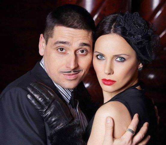 Мария Силвестър с мъжа си