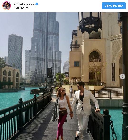 Енджи Касабие в Дубай