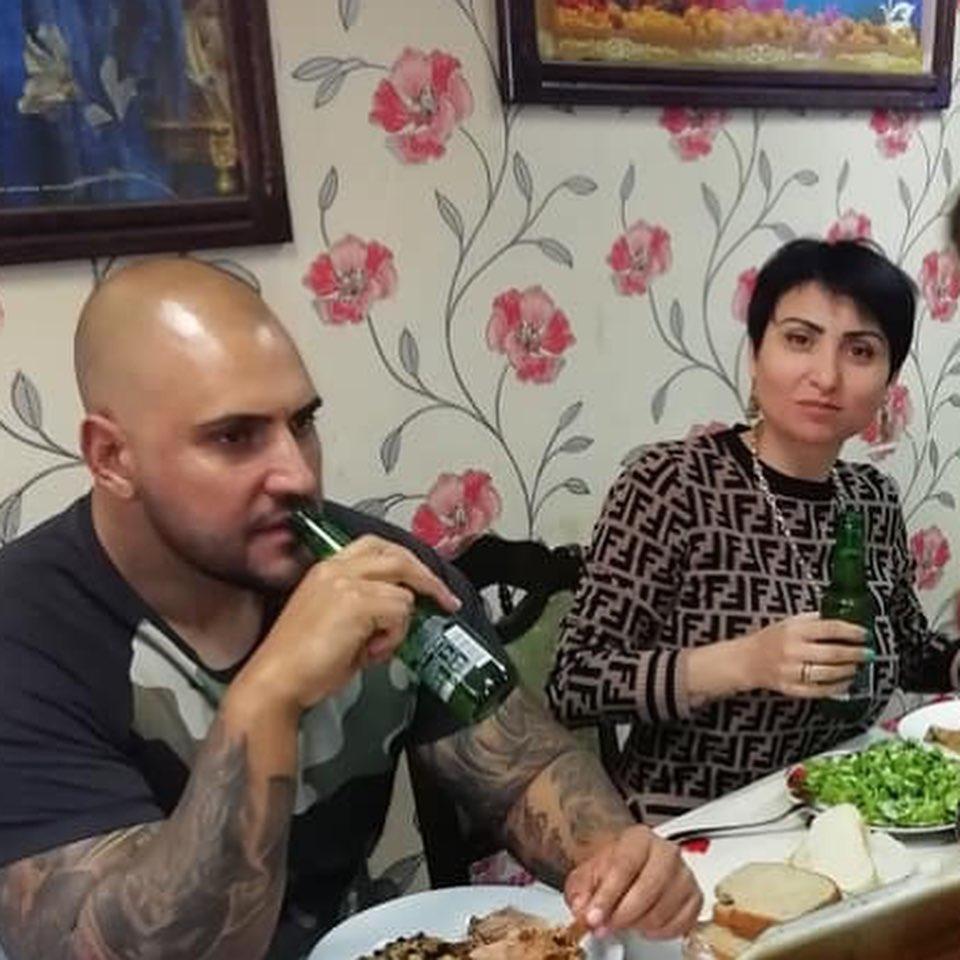 Софи Маринова у дома