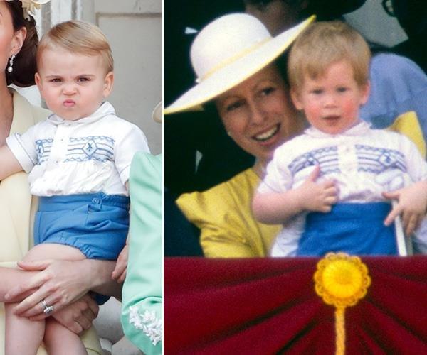 принц Хари като малък
