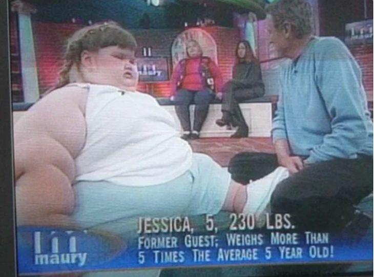 дебело момиченце
