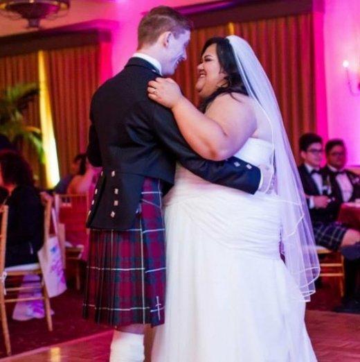 сватбата на Али и Глория