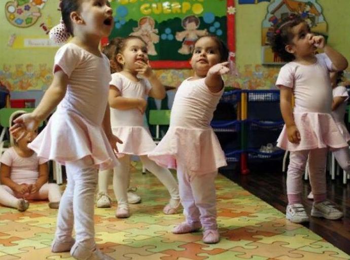 малки балеринки