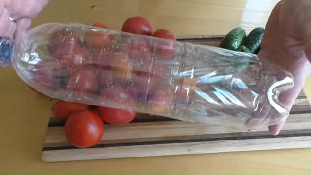 зеленчуци в бутилка