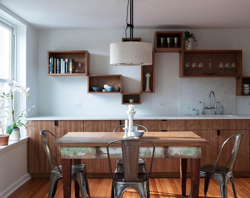 Полилеи в стила на гръндж тип таванско помещение