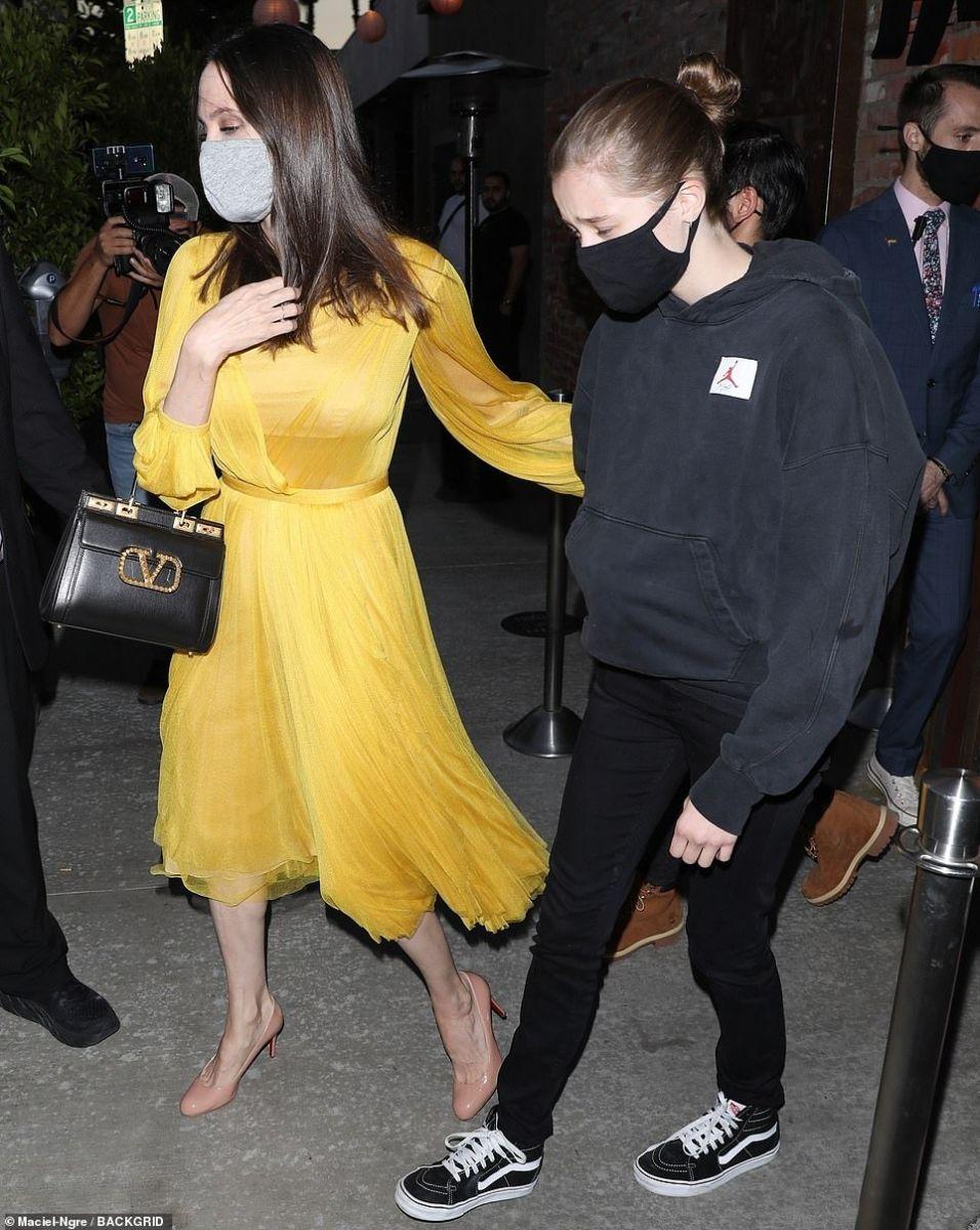 Анджелина с Шайло