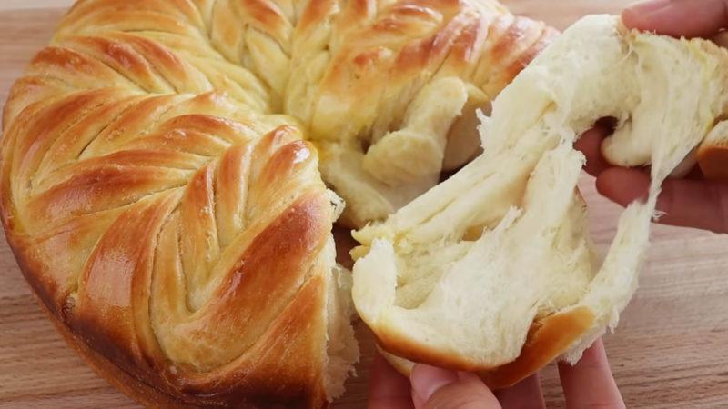 домашен хляб на слоеве