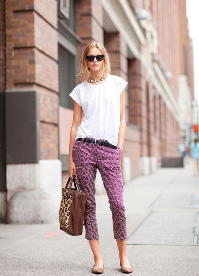 панталони с отворени глезени