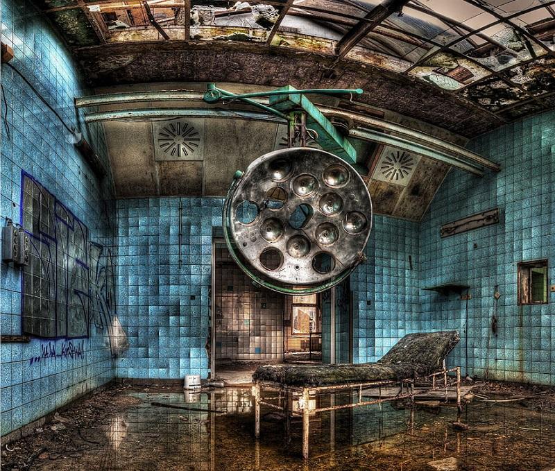 изоставена болница в Германия