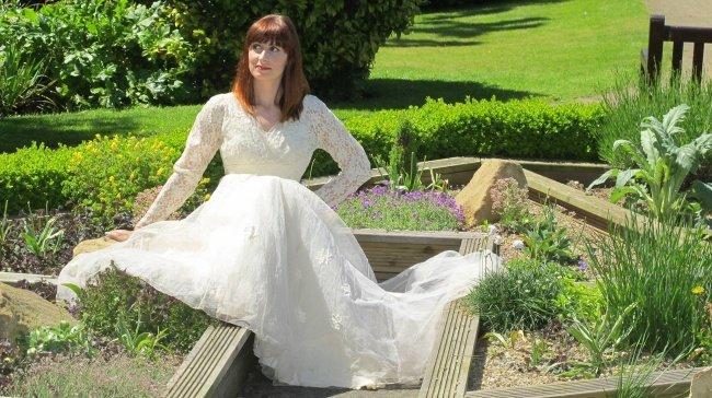 винтидж сватбена рокля