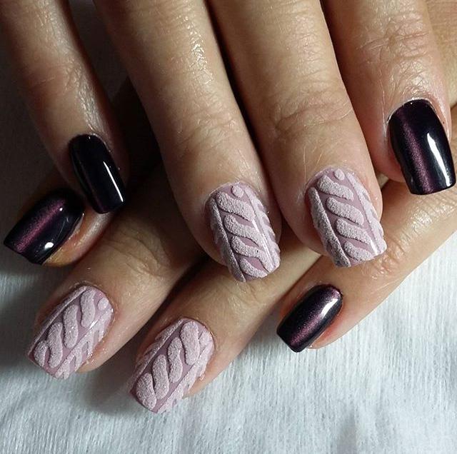 плетени нокти снимки