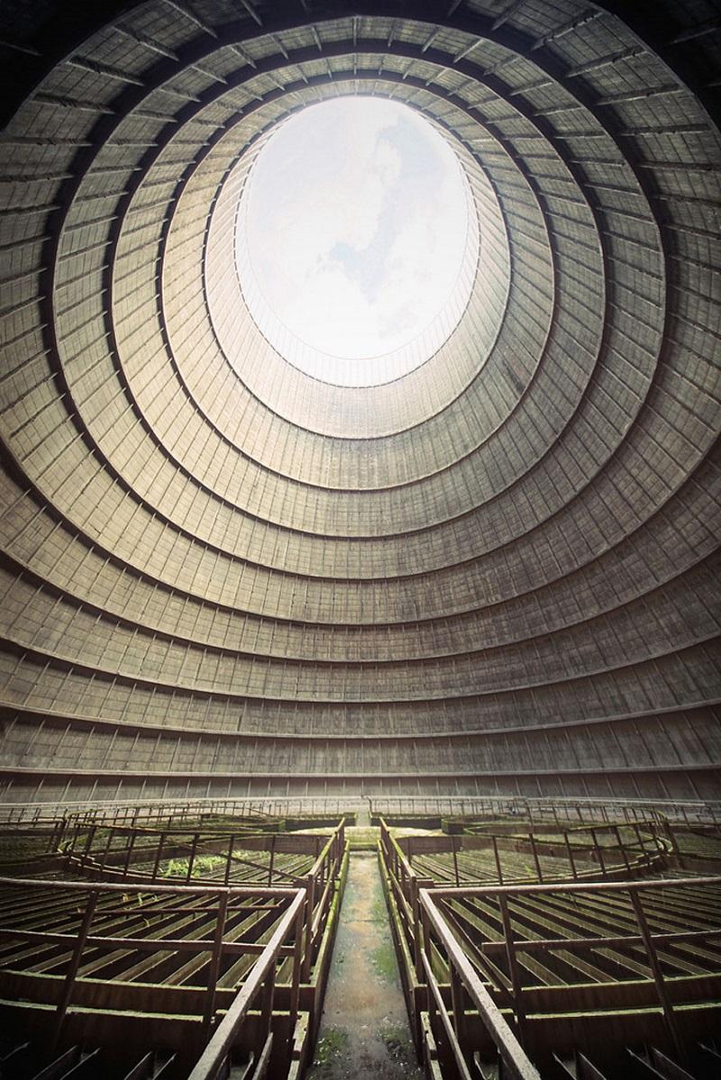 охладителна кула в Белгия