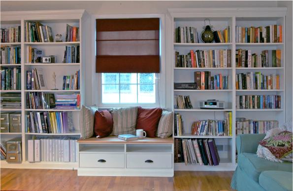 библиотека с кушетка