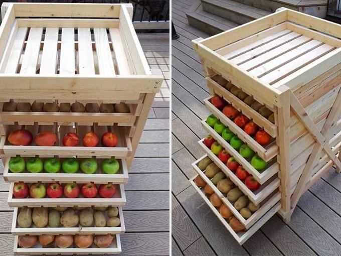 съхранение на ябълки