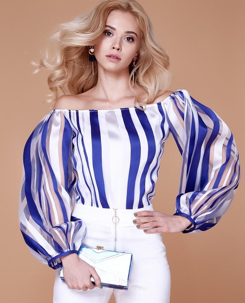широка блуза