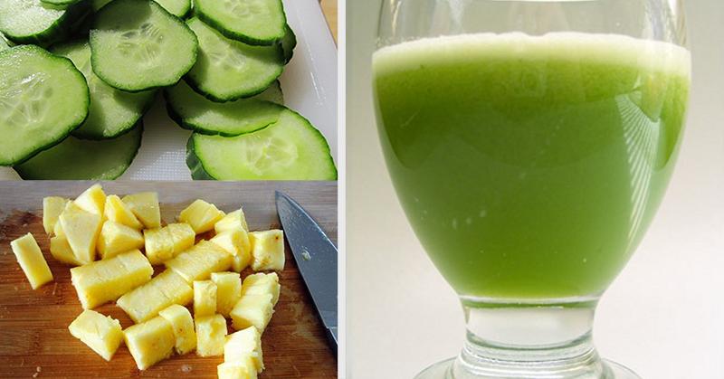 компоненти за зелен сок