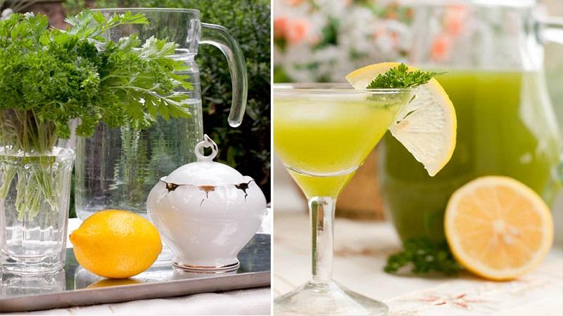 магданоз и лимон коктейл