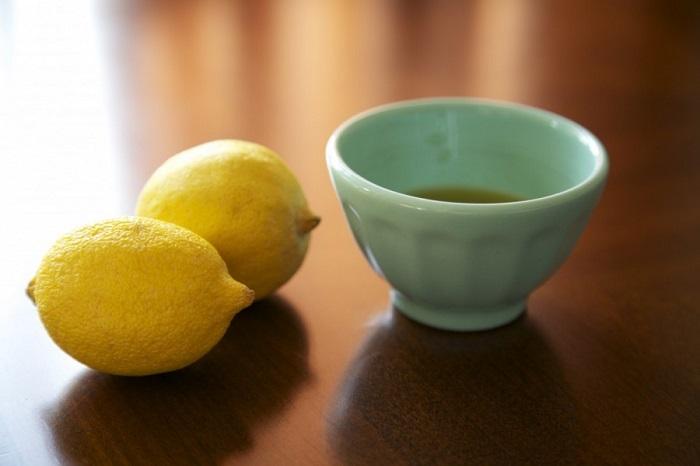 използването на зехтин с лимон