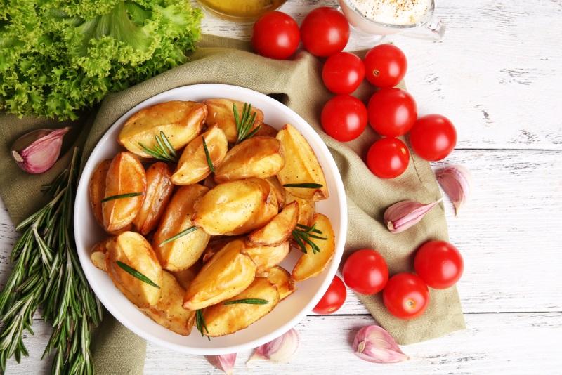 рецепта за печени картофи