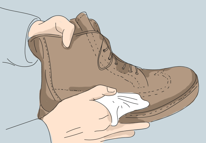 как да се грижим за кожени обувки