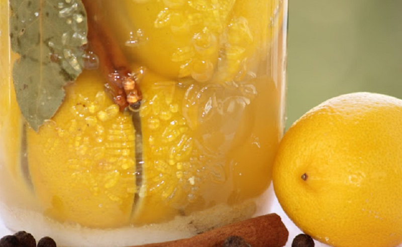 осолени лимони рецепта