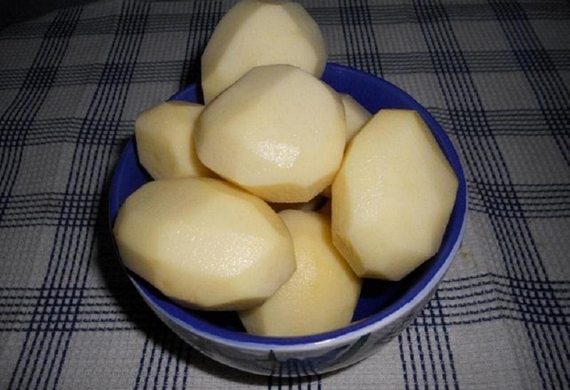 замразени картофи