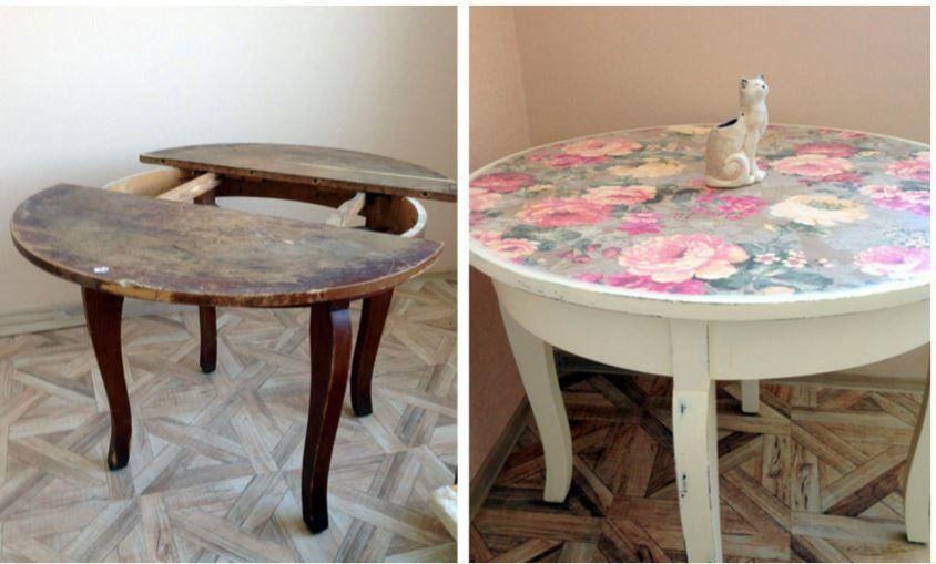 промяна на мебелите преди и след