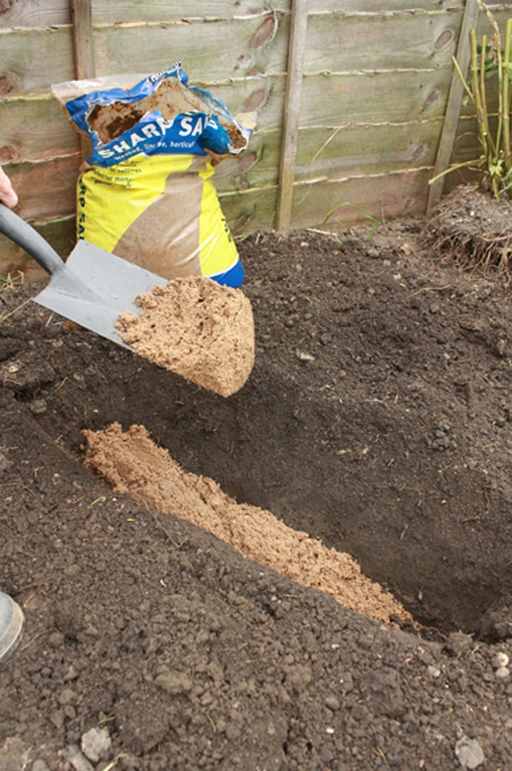 дупка в градината