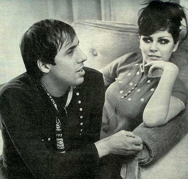Адриано Челентано и жена му