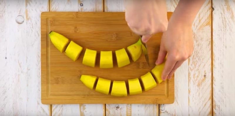 банан на филийки