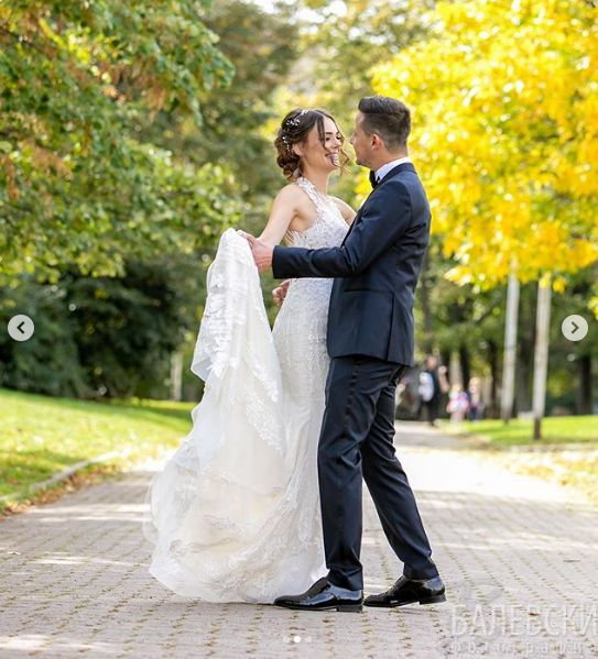 Памела и Демир Доган сватба