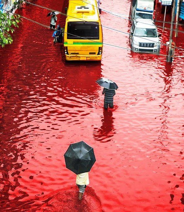 кървав дъжд