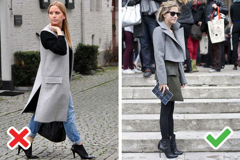 дълго или късо палто