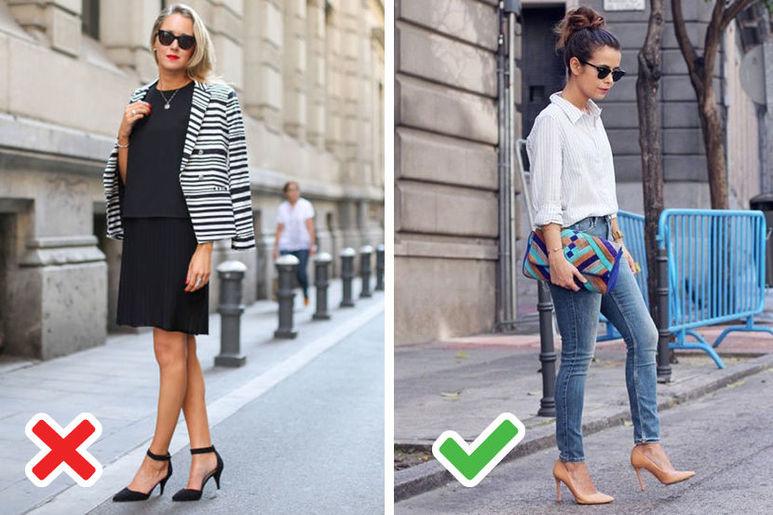 обувки за ниски жени
