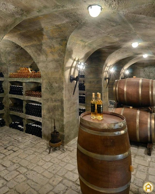 винарна в замък