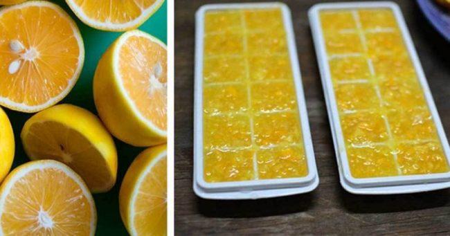замразен лимон