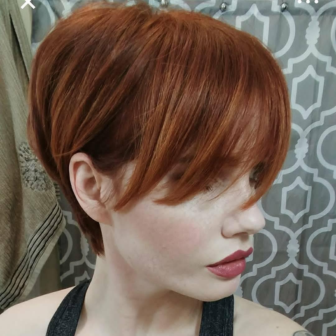 къса червена коса